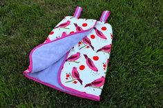 Add snaps to a towel to make a terry cover-up for your child. Click for tutorial. Snaps & tools available at www.KAMsnaps.com.