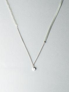 Trei Ice Gray by Carla Szabo #carlaszabo #jewelry #design #necklace #bracelet #icegray