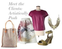 Outfit Inspiration: What to Wear When You Meet New Clients | amominredhighheels.com #ArtisticallyPosh
