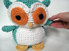 : Crochet Owl Stuffed animal