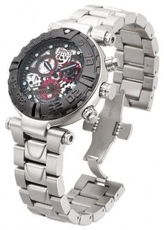#Invicta Mens Reserve Subaqua Noma I Limited Ed Swiss Made ISA Skeleton Dial Watch