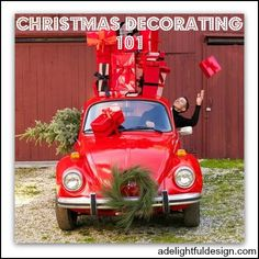 A Delightful Design Christmas Decorating series: Part 1
