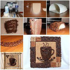 obraz kavove zrna