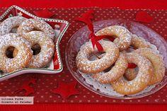 Roscos de naranja. Receta de Navidad