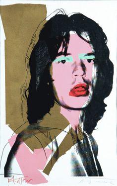 Mick Jagger - Andy Wharol.