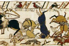 Google Afbeeldingen resultaat voor http://upload.wikimedia.org/wikipedia/commons/3/3d/Tapestry_by_unknown_weaver_-_The_Bayeux_Tapestry_(detail)_-_WGA24165.jpg