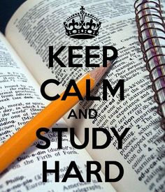 KEEP CALM AND STUDY HARD. Another original poster design created with the Keep Calm-o-matic. Buy this design or create your own original Keep Calm design now. Exam Motivation, Study Motivation Quotes, School Motivation, Keep Calm And Study, Keep Calm And Love, Keep Calm Posters, Keep Calm Quotes, Study Hard Quotes, Keep Calm Signs