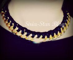 Collar hilo con cadenas http://siria-star.blogspot.com.es/2013/04/review-bisuteria-isabbisuteria.html