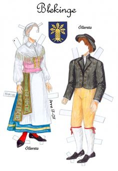Svenskadrakter5 * 1500 free paper dolls at artist Arielle Gabriel's International Paper Doll Society also her new memoir The Goddess of Mercy & the Dept  of Miracles playing with paper dolls in Montreal *
