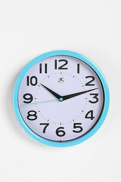 Turquoise Wall Clock #Top10UOHome