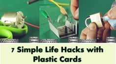 7 Simple Life Hacks with Plastic Cards