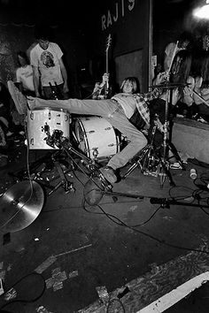 "Soulcatcher Studio: Charles Peterson | Charles Peterson ""Nirvana, Raji's, Los Angeles, 1990"""