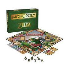 MONOPOLY LEGEND OF ZELDA *INGLES*