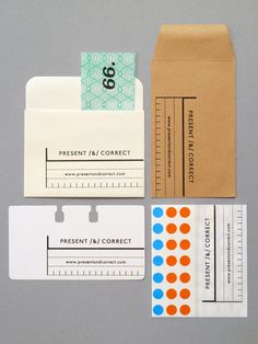 present & correct thank you slips for orders