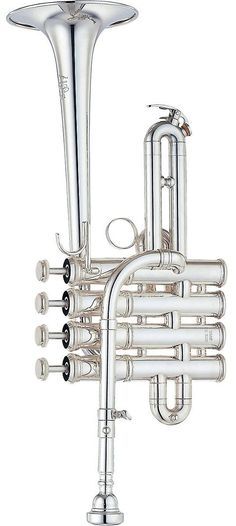 Yamaha Custom Bb / A Piccolo Trumpet Trombone, Brass Music, Trumpet Music, Types Of Music, Silver Lining, Sound Of Music, Musical Instruments, Horns, French Horn