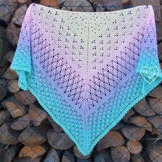 Crochet Shawl, Crochet Lace, Crochet Bikini, Double Crochet, My Favorite Things, Knitting, Swimwear, Spring, Handmade