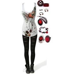 """Untitled #1043"" by bvb3666 on Polyvore"