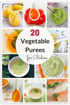 20 Quick and Easy Vegetable Purees for Babies Purees are among the first foods given to babies. Use this chance to introduce your baby to a variety of veggies with these vegetable purees for babies. Baby Food Vegetables, Vegetables For Babies, Veggies, Baby Puree Recipes, Pureed Food Recipes, Baby Food Recipes, Baby Bullet Recipes, Kid Recipes, Parenting Hacks