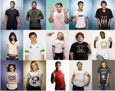 15 Celebrities Wearing their Favorite T-Shirts
