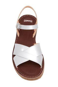 3fac280a677e0 Buy Camper Crisscross Women Sandals 35 Grey online