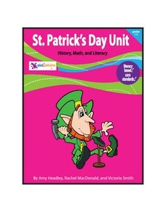 Our St. Patrick's Day Unit fosters Math and Literacy in History and Social Studies for 1st-3rd grade students.    This 45-page unit is packed with St. Patrick's Day themed lessons and original poems.    Students will learn about St. Patrick's Day through several higher and lower level Core Standard-aligned activities.