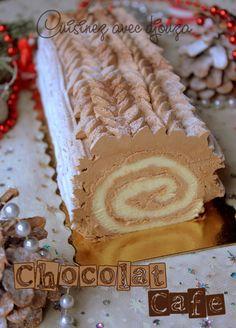 Christmas log easy for beginners - Recipes Christmas Log, Simple Christmas, Christmas Cookies, Cappuccino Torte, Rocher Torte, Winter Torte, Ganache, Kinds Of Salad, Strawberries And Cream
