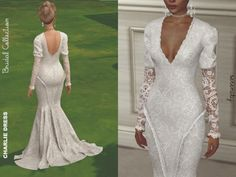Charlie Wedding Dress - The Sims 4 Download - SimsDomination