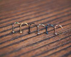 Triple Cartilage Piercing, Tragus Piercing Earrings, Rook Earring, Nose Hoop, Fake Nose Stud, Fake Nose Rings, Surgical Steel Nose Rings
