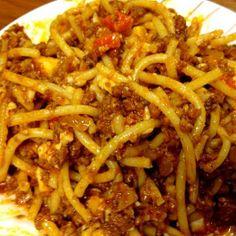 Spaghetti a la Kris Spaghetti Recipes, Pasta Recipes, Cooking Recipes, Spaghetti Sauce, Filipino Recipes, Filipino Desserts, Filipino Food, Italian Recipes, New Recipes