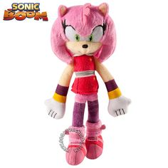 #Peluche #Sonic #Boom #Amy #SonicBoom #Original #Plus #Toy  Importado. Tamaño chico. Medida: 23 cm. Super suave. Excelente calidad y detalles bordados. Coleccionalos!  Marca: Tomy. Importador oficial: Fibro.