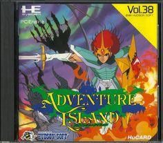 Adventure Island for the PC Engine  #PCEngine #PCE #NEC #PC #Engine  #Adventure #Island #Retro #Gaming