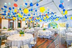 Adam's Emoji-fied Themed Party – Ceiling Emoji Theme Party, Party Themes, Party Ideas, Balloon Decorations, Table Decorations, Adam S, Emoji Faces, Different Games, Kid Table