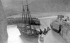 St Agnes harbour, Trevanunce Cove. c.1900