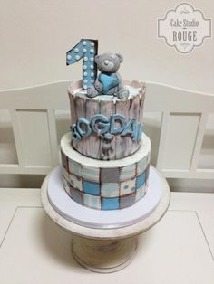 Tatty teddy patchwork cake by Ceca79