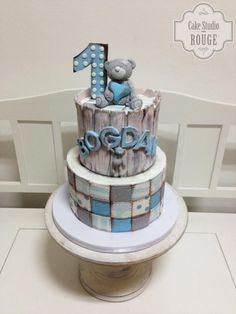 Tatty teddy patchwork cake by Ceca79