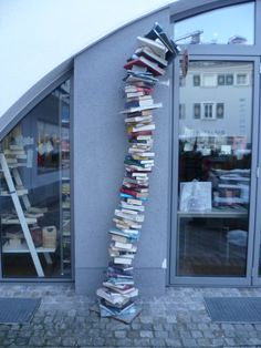 In front of a library in Radstadt (Ausztria). Austria, Bookcase, Sleep, Shelves, Eat, Home Decor, Shelving, Decoration Home, Room Decor
