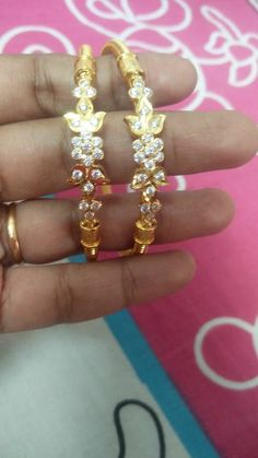 Bracelets – Page 4 – Finest Jewelry Gold Bangles Design, Gold Earrings Designs, Gold Jewellery Design, Necklace Designs, Gold Jhumka Earrings, Gold Necklace, Emerald Necklace, Gold Jewelry Simple, Indian Wedding Jewelry
