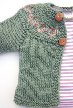 knit button sweater