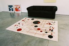 Resonance Rug - Abstract Matters Collection www.loophouse.com