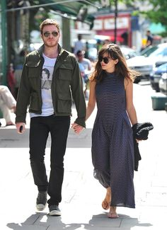 Richard Madden and Jenna Louise Coleman. Love her dress.