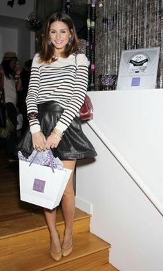 Olivia Palermo At A Party For Anna Sui In Paris, 2011