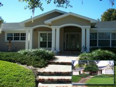 Orlando Home Remodeler Before and After Project Examples Exterior Renovation