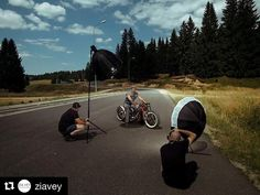 Image by @ziavey | #outdoor #shooting with some awesome #wheels #custom #bike #bts