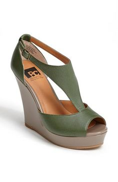 BC Footwear 'Lickety Split' Wedge Sandal available at #Nordstrom
