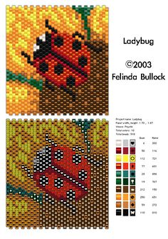 Ladybug - many free patterns on this site
