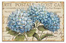 CounterArt Blue Hydrangea Collection