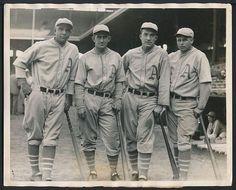 Miller,Cochrane,Simmons ,Foxx A's sluggers  1930 philadelphia A's