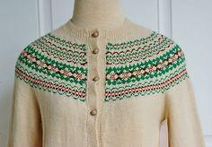 Vintage 1950's Beige Knit Norwegian Cardigan Sweater Size s M   eBay