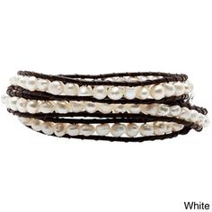 Handcrafted Multi-Strand Beaded Bracelet - Beach Ball (Guatemala) | Overstock.com Shopping - The Best Deals on Bracelets
