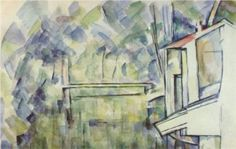 Mill on the River - Paul Cezanne
